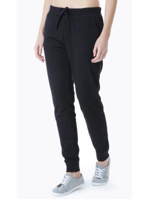 Спортивные брюки ТВОЕ. Цвет: черный