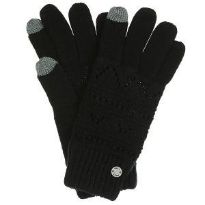 Перчатки женские  Girl Glove Anthracite Roxy. Цвет: черный