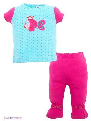 Комплект FS Confeccoes. Цвет: голубой, розовый
