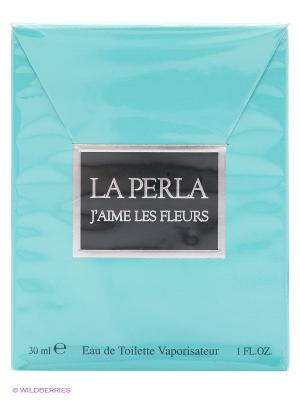 Туалетная вода LA PERLA J AIME LES FLEURS, 30 мл. Цвет: бирюзовый