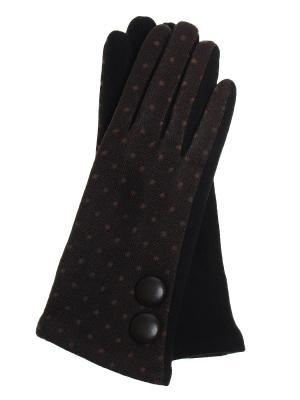Перчатки Olere. Цвет: черный, коричневый