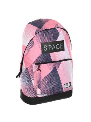 Рюкзак ANTA. Цвет: черный, розовый, фиолетовый