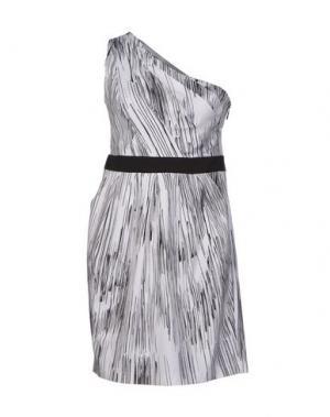 Короткое платье HANITA. Цвет: белый