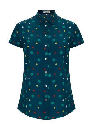 Блузка APRELLE. Цвет: темно-зеленый