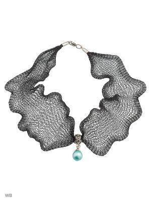 Чокеры ACCENT jewelry. Цвет: черный
