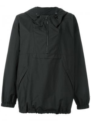Half-zip hooded jacket Maison Margiela. Цвет: чёрный