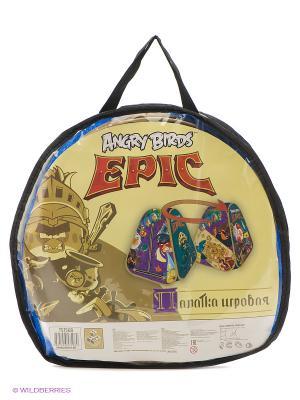 Детская игровая палатка в сумке 1toy Angry Birds Epic. Цвет: прозрачный