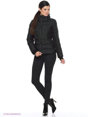 Куртка EVACANA. Цвет: черный