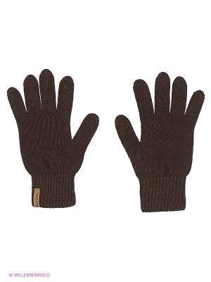 Перчатки NORTON. Цвет: темно-коричневый