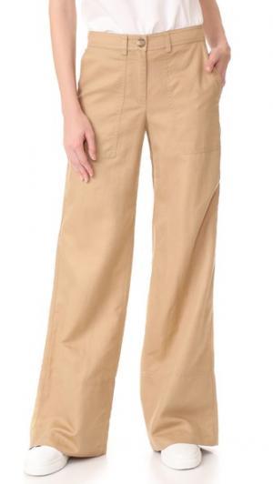 Широкие брюки Robert Rodriguez. Цвет: карамельный