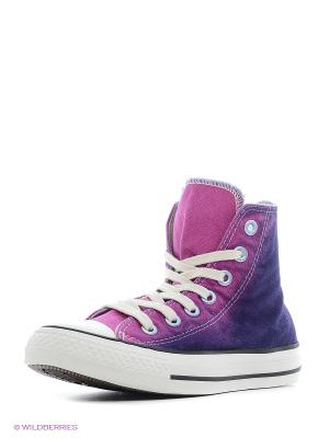 Кеды Chuck Taylor All Star Converse. Цвет: бледно-розовый, белый