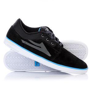 Кеды кроссовки низкие  Howard Suede Black Lakai. Цвет: черный