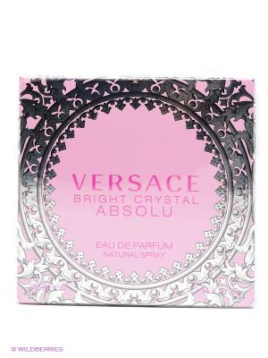 Versace Bright Crystal Absolu Парфюмированная вода, 50 мл.. Цвет: прозрачный