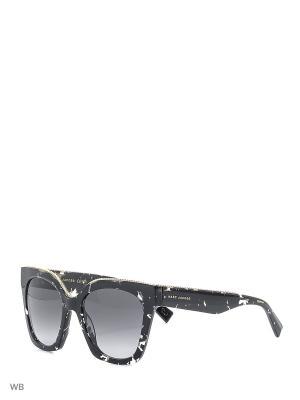 Солнцезащитные очки MARC JACOBS. Цвет: темно-коричневый