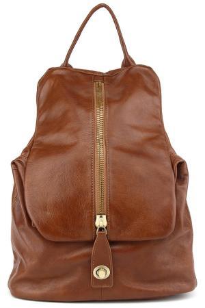 Рюкзак BAGSTONE. Цвет: светло-коричневый