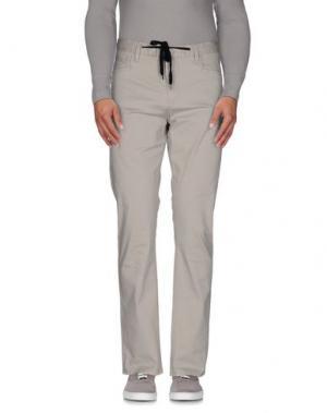 Повседневные брюки ELEMENT. Цвет: светло-серый
