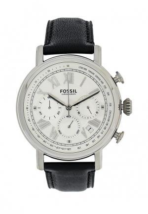 Часы Fossil. Цвет: черный