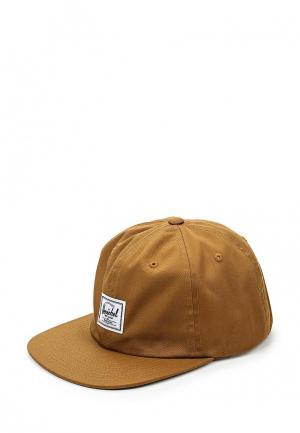 Бейсболка Herschel Supply Co. Цвет: коричневый