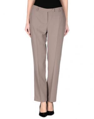 Повседневные брюки NVL__NUVOLA. Цвет: голубиный серый