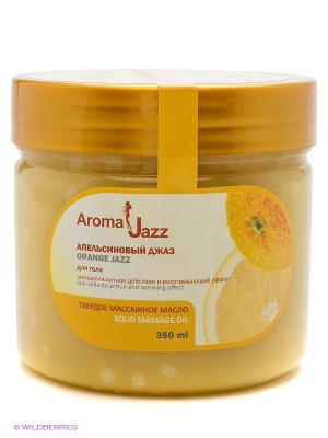 Твердое масло Апельсиновый джаз, 300 мл АРОМАДЖАЗ. Цвет: светло-оранжевый