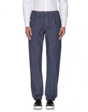 Повседневные брюки AVIO. Цвет: грифельно-синий