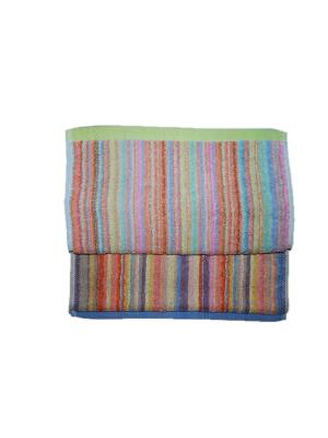 Комплект полотенец 2пр 30х70 La Pastel. Цвет: голубой, желтый