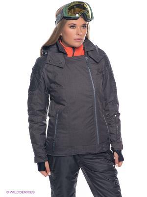 Куртка BRUNOTTI. Цвет: темно-серый