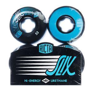 Колеса для скейтборда  Slix Black 81B 53 mm Ricta. Цвет: черный,синий