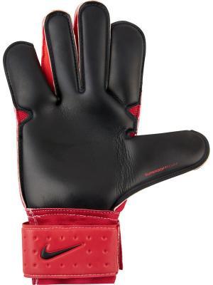 Вратарские перчатки NK GK GRP3 Nike. Цвет: красный, черный