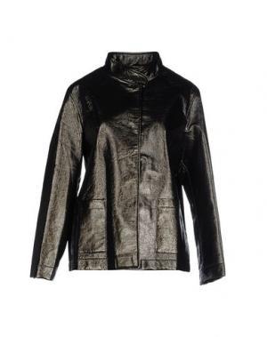 Куртка PAOLO ERRICO. Цвет: зеленый-милитари