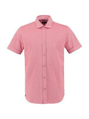 Рубашка Florentino. Цвет: красный