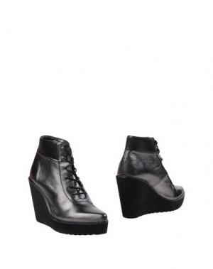 Полусапоги и высокие ботинки SWEAR-LONDON. Цвет: свинцово-серый