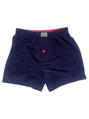 Трусы Oztas underwear. Цвет: темно-синий, красный