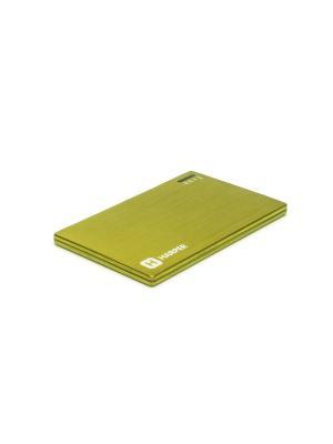 Внешний аккумулятор HARPER PB-2000 LIME. Цвет: светло-желтый