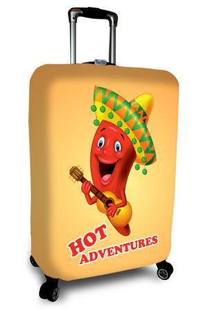 Чехол на чемодан SOVA COVER. Цвет: перец мексикано