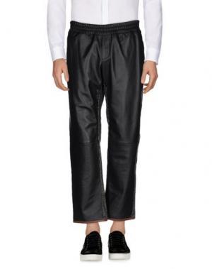 Повседневные брюки TRE CINQUE SETTE. Цвет: черный