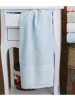 Tiffany (бирюза) 70х130 Полотенце Sofi de Marko. Цвет: голубой