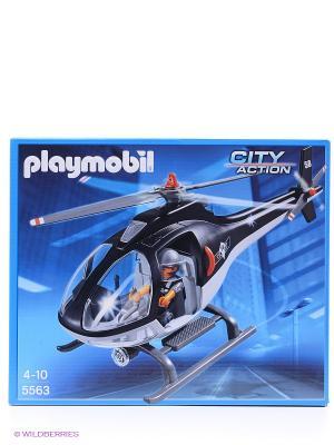 Полиция Вертолет специального назначения Playmobil. Цвет: темно-синий