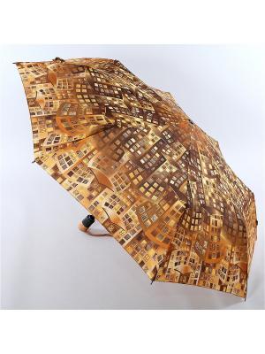 Зонт Airton. Цвет: горчичный, темно-бежевый