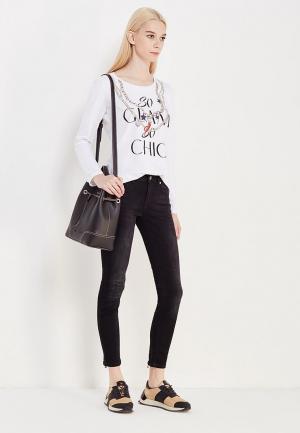 Лонгслив Liu Jo Jeans. Цвет: белый