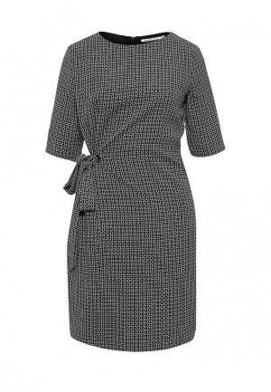 Платье Zarina. Цвет: черно-белый