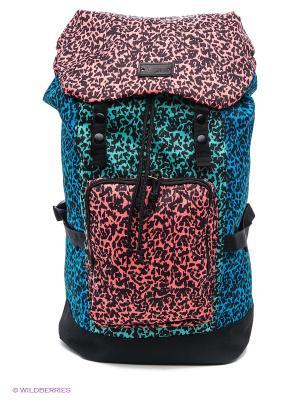 Рюкзак VANS. Цвет: голубой, розовый, светло-зеленый