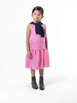 Блузка Imoga. Цвет: розовый
