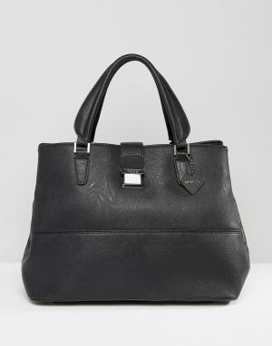 Marc B Большая сумка-тоут Chelsy. Цвет: черный