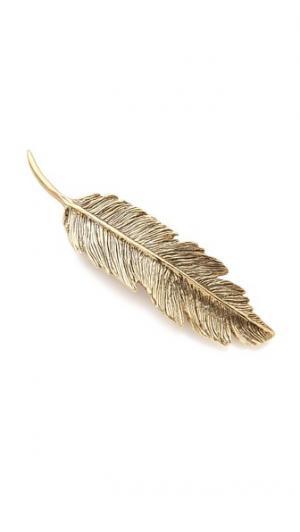 Заколка для волос в виде пера PLUIE