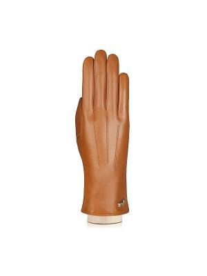 Перчатки Labbra. Цвет: коричневый, рыжий
