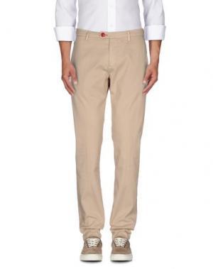 Повседневные брюки BARONIO. Цвет: бежевый