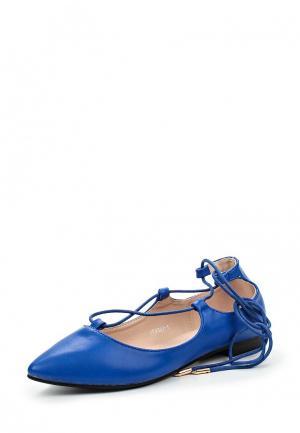 Туфли Tulipano. Цвет: синий