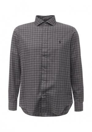 Рубашка Polo Ralph Lauren. Цвет: серый