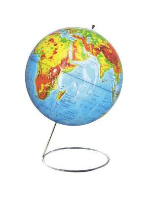 Глобус физический, 25 см Rotondo. Цвет: голубой